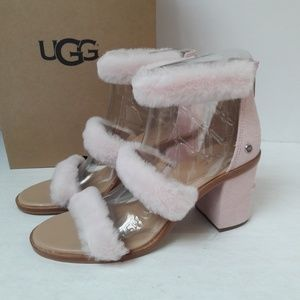 New UGG Del Rey Fluff Heels various sizes
